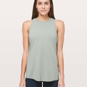 Lululemon All Tied Up Tank in Palm Court